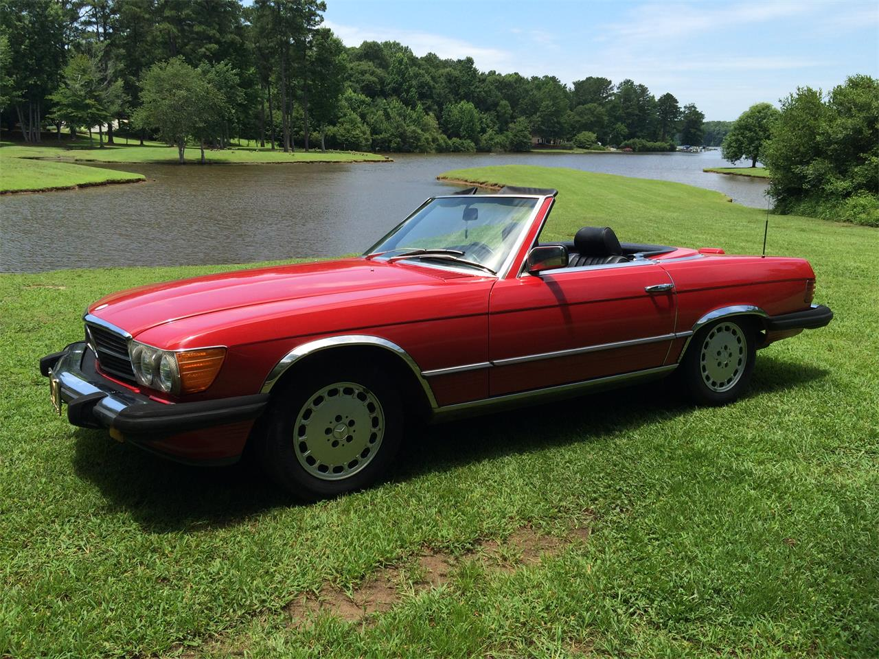 Large Picture of '84 380SL located in Newnan Georgia - $15,500.00 - FBQE