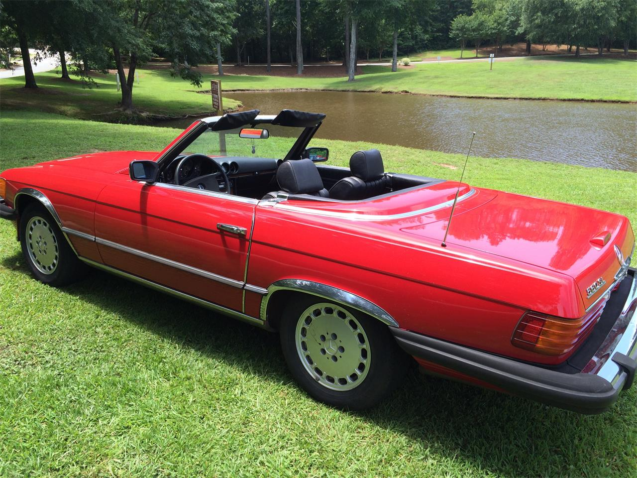 Large Picture of 1984 380SL located in Newnan Georgia - FBQE