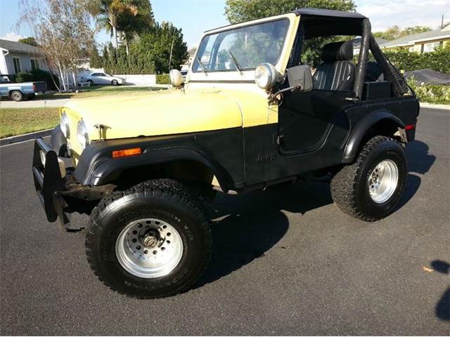 Picture of 1977 CJ5 located in Brea California - FBTP