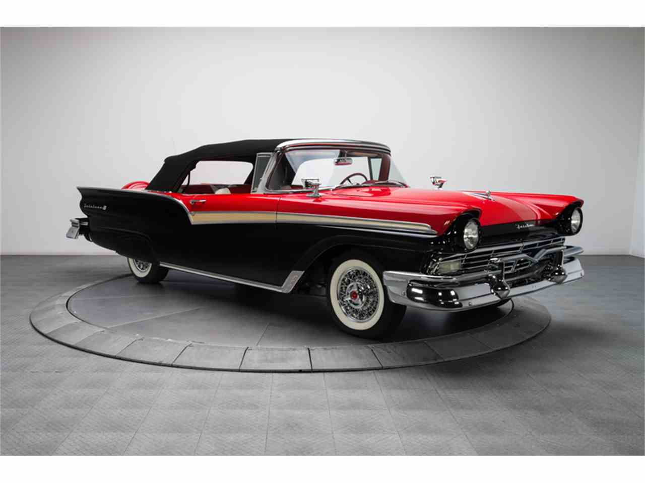 Large Picture of '57 Fairlane 500 located in North Carolina - $94,900.00 Offered by RK Motors Charlotte - FC0Y