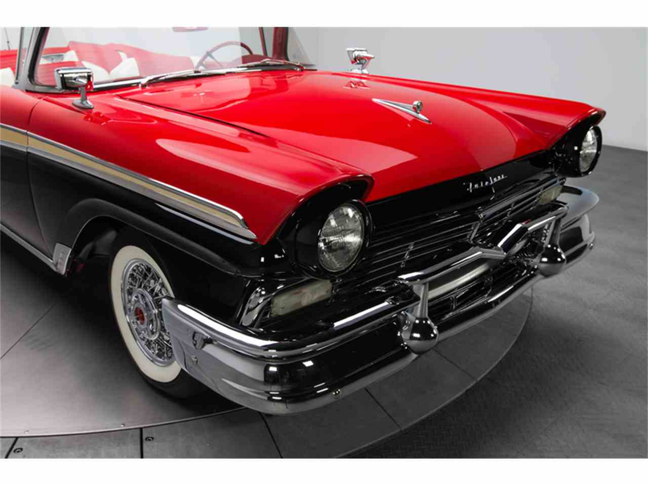 Large Picture of '57 Ford Fairlane 500 located in North Carolina Offered by RK Motors Charlotte - FC0Y