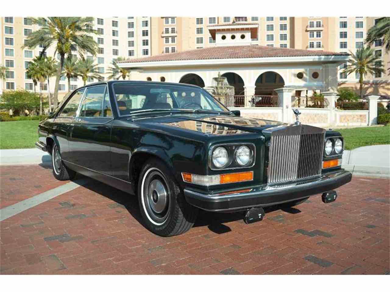 Large Picture of '76 Rolls-Royce Corniche located in Carey Illinois Offered by Park-Ward Motors - F89V