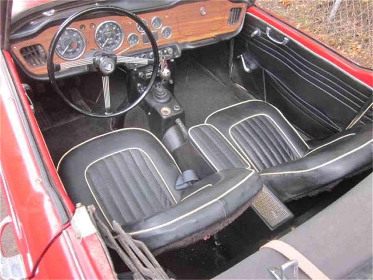 Large Picture of '66 TR4A - FCIE