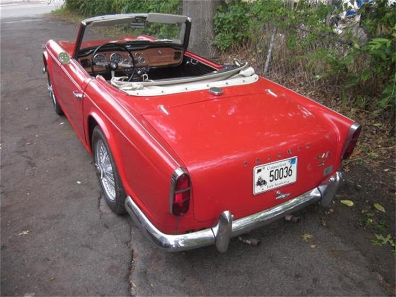 Large Picture of '66 Triumph TR4A - $18,500.00 Offered by The New England Classic Car Co. - FCIE
