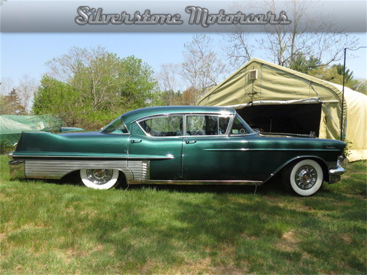 Large Picture of Classic '57 Cadillac Fleetwood - $19,950.00 Offered by Silverstone Motorcars - F8GG