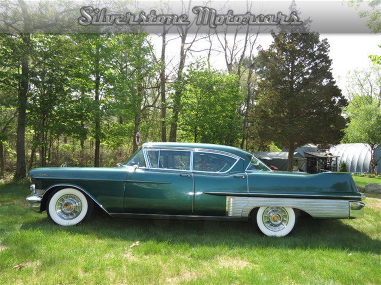 Large Picture of '57 Fleetwood located in Massachusetts Offered by Silverstone Motorcars - F8GG