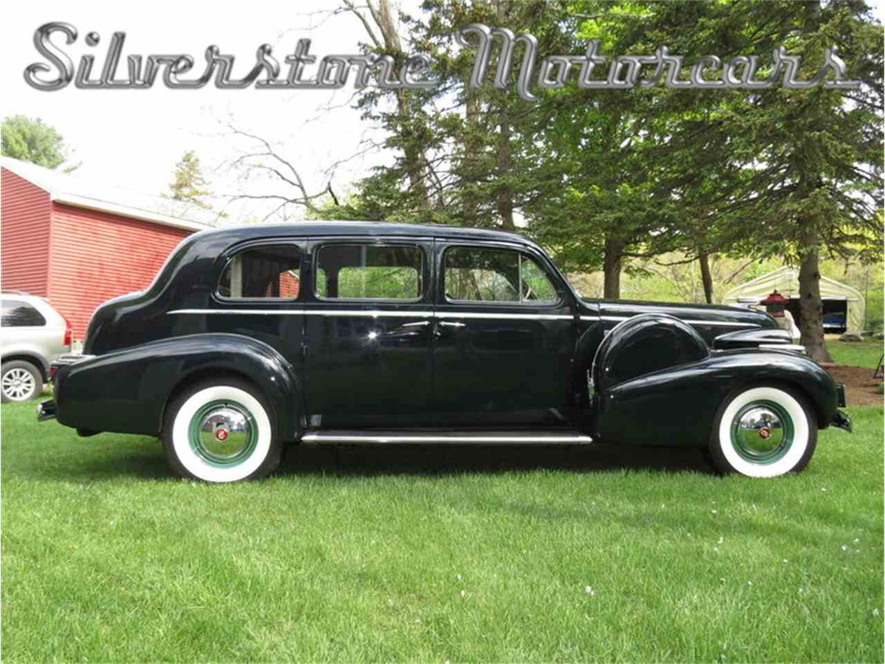 Large Picture of 1939 Cadillac Fleetwood located in North Andover Massachusetts Auction Vehicle - F8HI