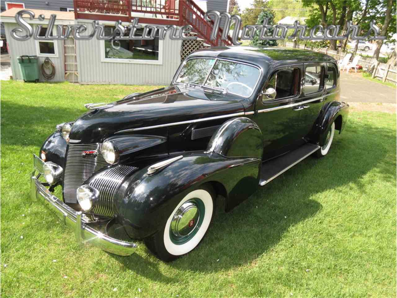 Large Picture of Classic 1939 Fleetwood located in North Andover Massachusetts Auction Vehicle Offered by Silverstone Motorcars - F8HI