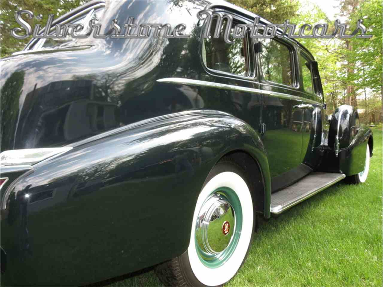 Large Picture of '39 Cadillac Fleetwood located in Massachusetts Auction Vehicle Offered by Silverstone Motorcars - F8HI