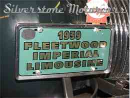 Picture of '39 Fleetwood located in North Andover Massachusetts Auction Vehicle - F8HI