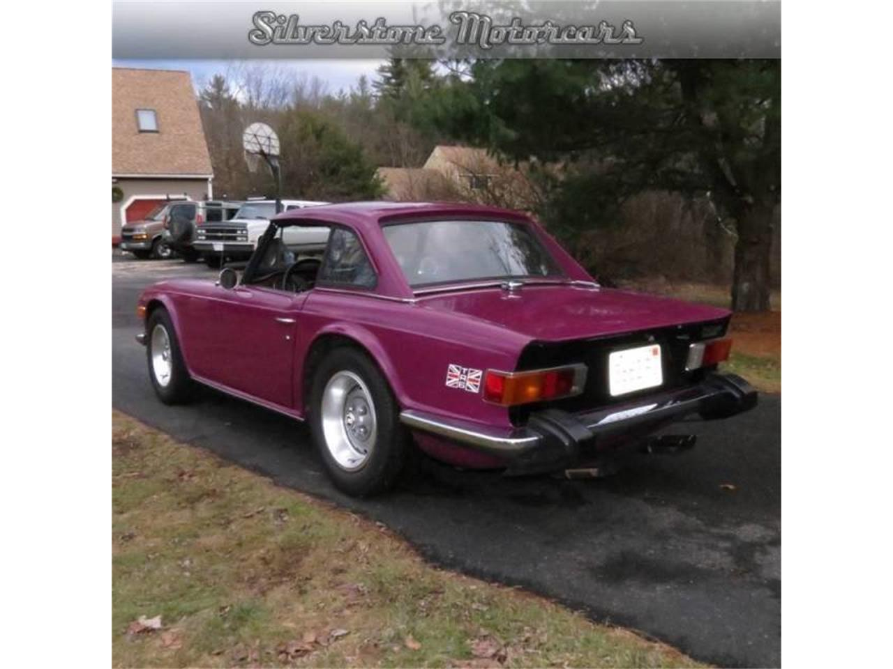 Large Picture of 1974 Triumph TR6 located in North Andover Massachusetts Offered by Silverstone Motorcars - F8HQ