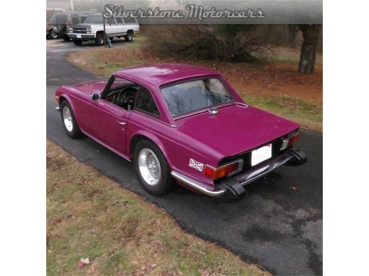 Large Picture of 1974 TR6 located in North Andover Massachusetts - F8HQ