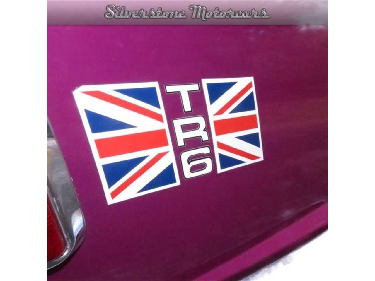 Large Picture of '74 TR6 Offered by Silverstone Motorcars - F8HQ