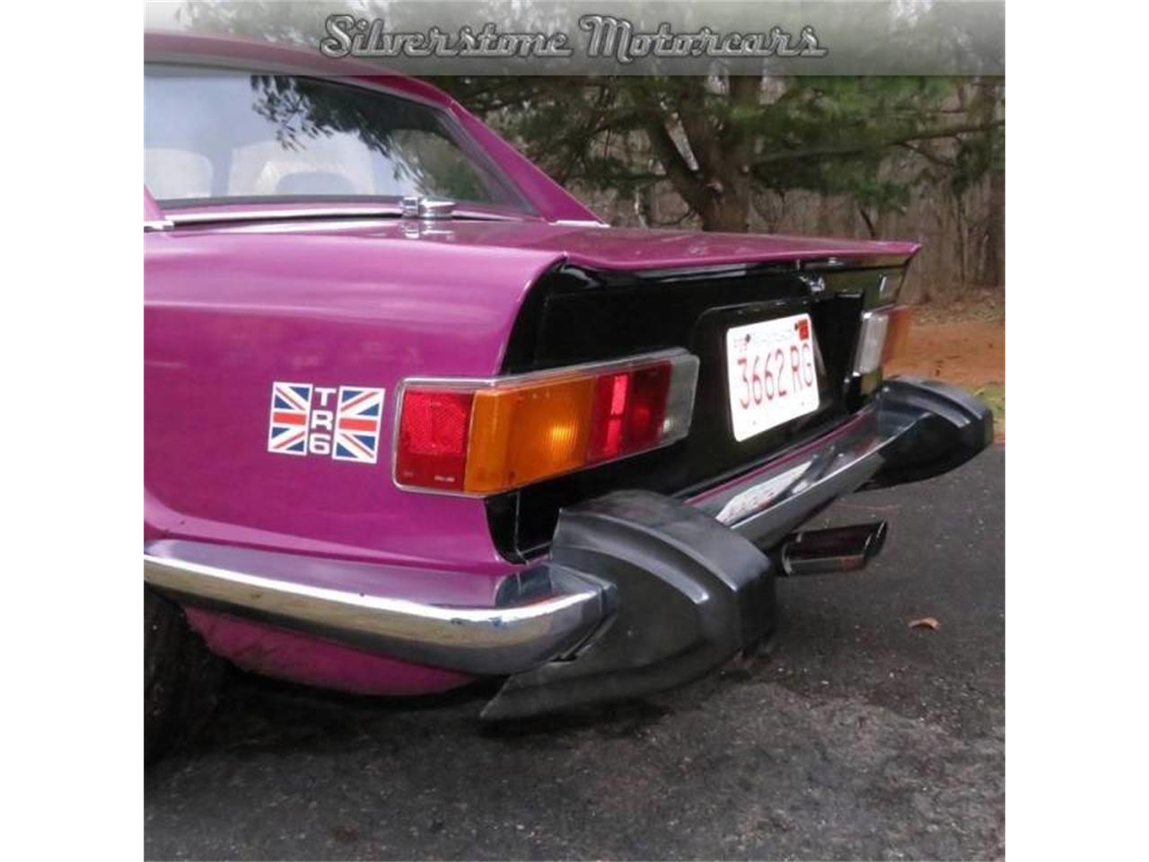 Large Picture of '74 Triumph TR6 located in North Andover Massachusetts - $19,900.00 Offered by Silverstone Motorcars - F8HQ