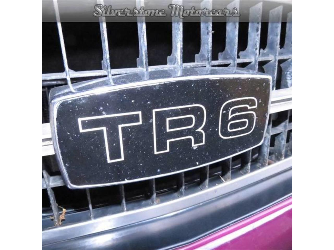 Large Picture of 1974 Triumph TR6 located in North Andover Massachusetts - F8HQ