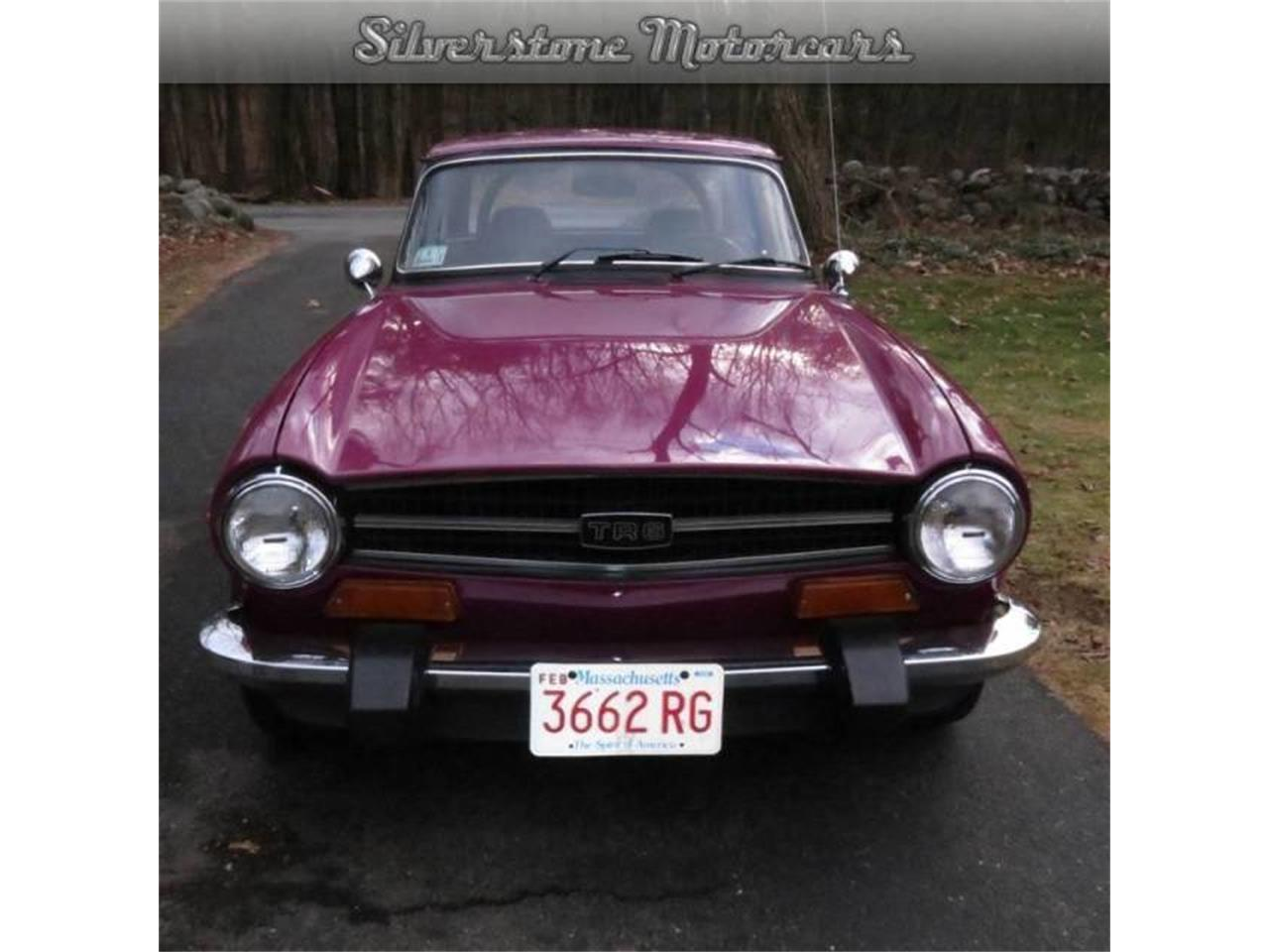 Large Picture of 1974 TR6 located in North Andover Massachusetts Offered by Silverstone Motorcars - F8HQ