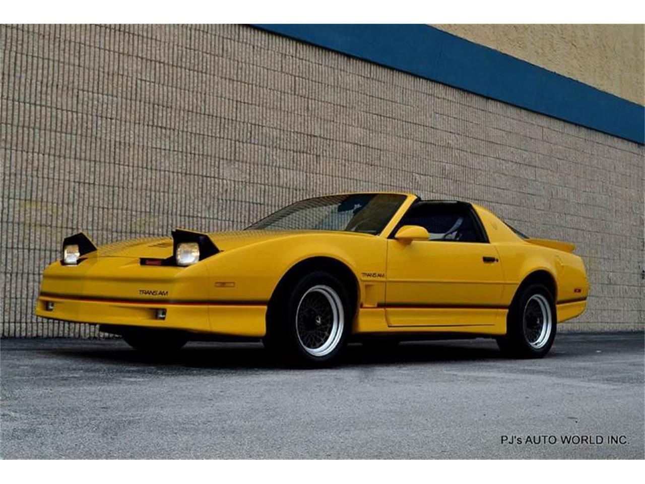 Large Picture of 1986 Pontiac Firebird - FF1Q