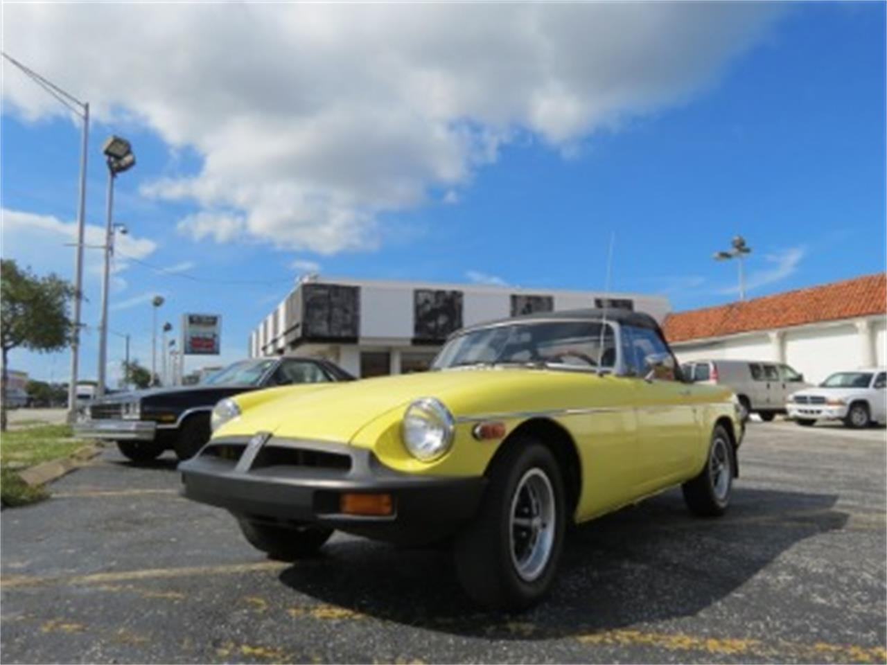 Large Picture of '77 MG MGB located in Miami Florida - $12,500.00 Offered by Sobe Classics - FGMU