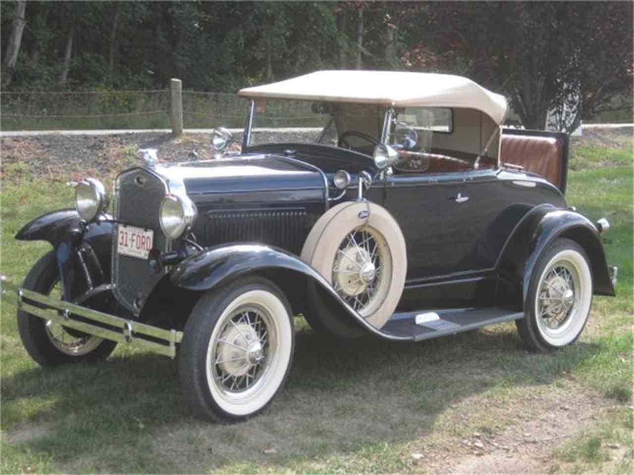 Large Picture of '31 Model A - FH13