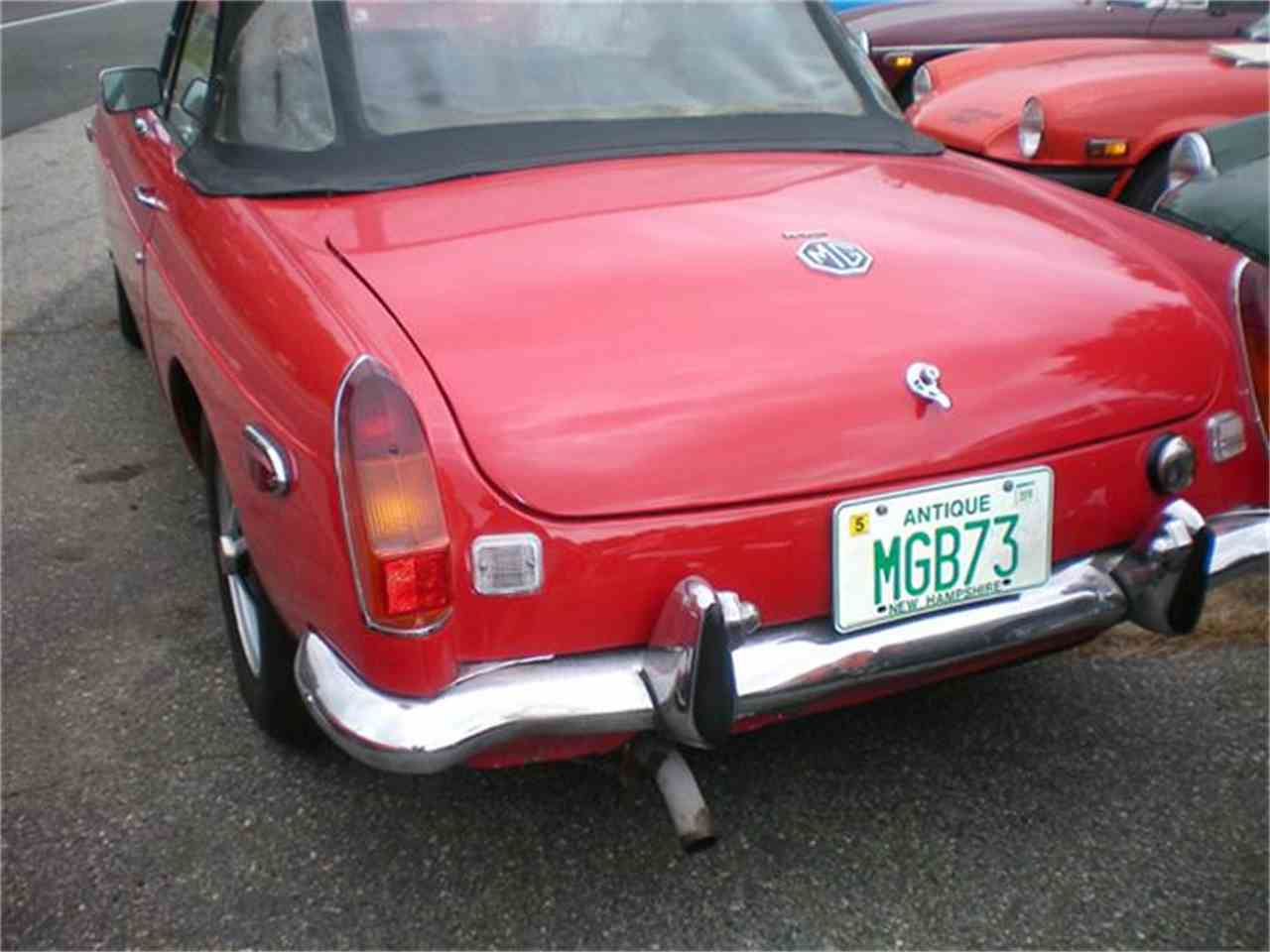 Large Picture of '73 MGB - FHYJ