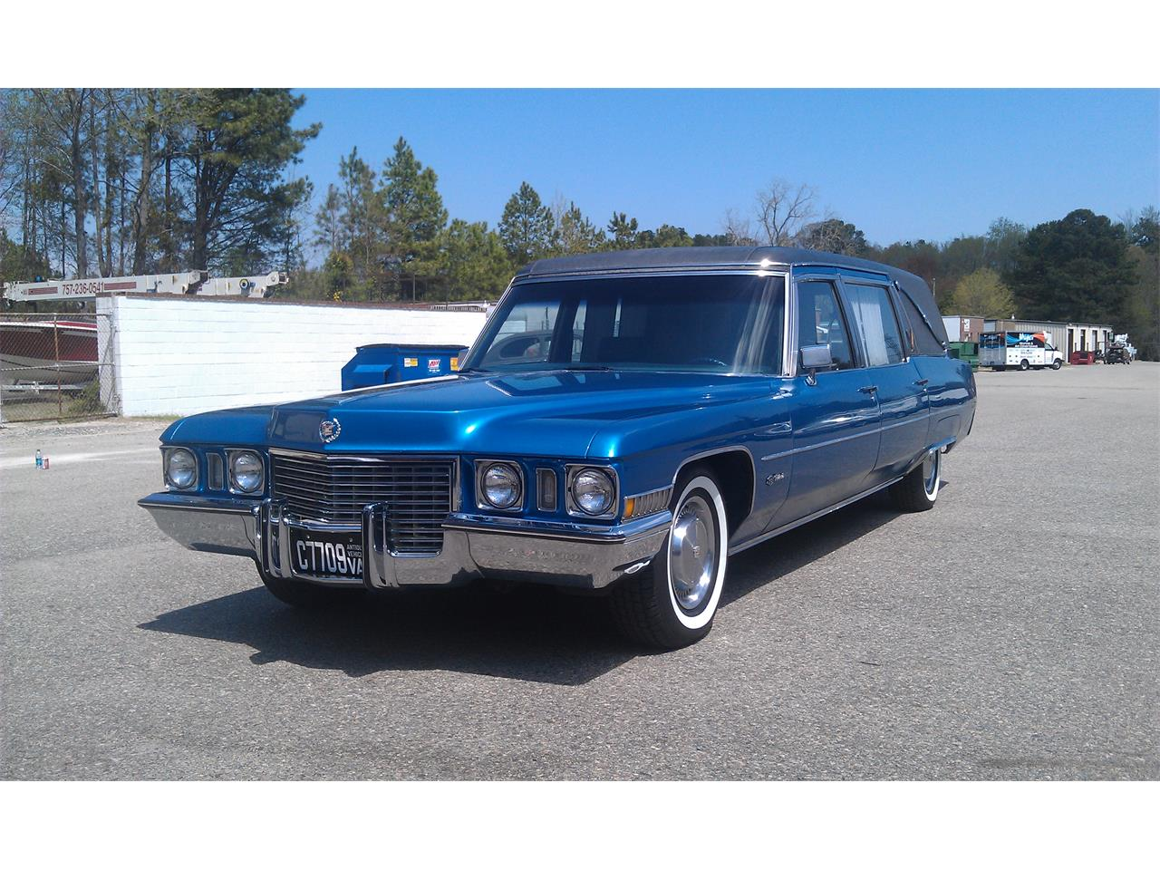 Large Picture of Classic 1972 Cadillac Hearse located in California Offered by a Private Seller - FJJH