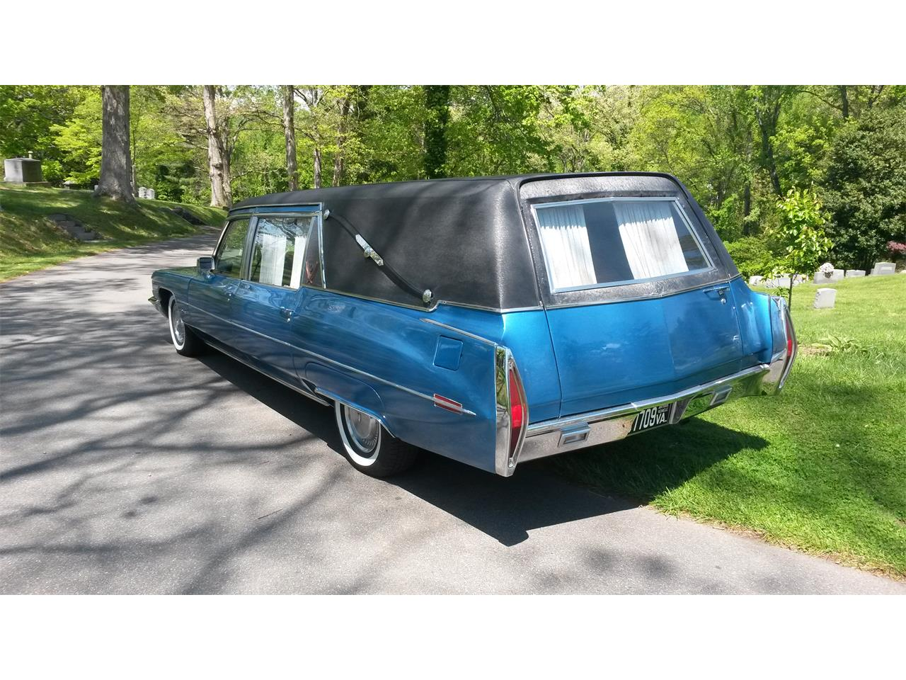 For Sale: 1972 Cadillac Hearse in Palmdale, California