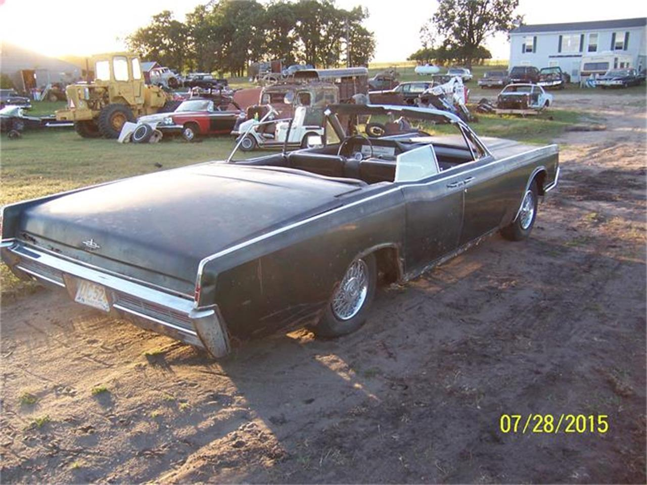 Large Picture of Classic 1966 Lincoln Convertible located in Parkers Prairie Minnesota - $3,800.00 Offered by Dan's Old Cars - FLDG