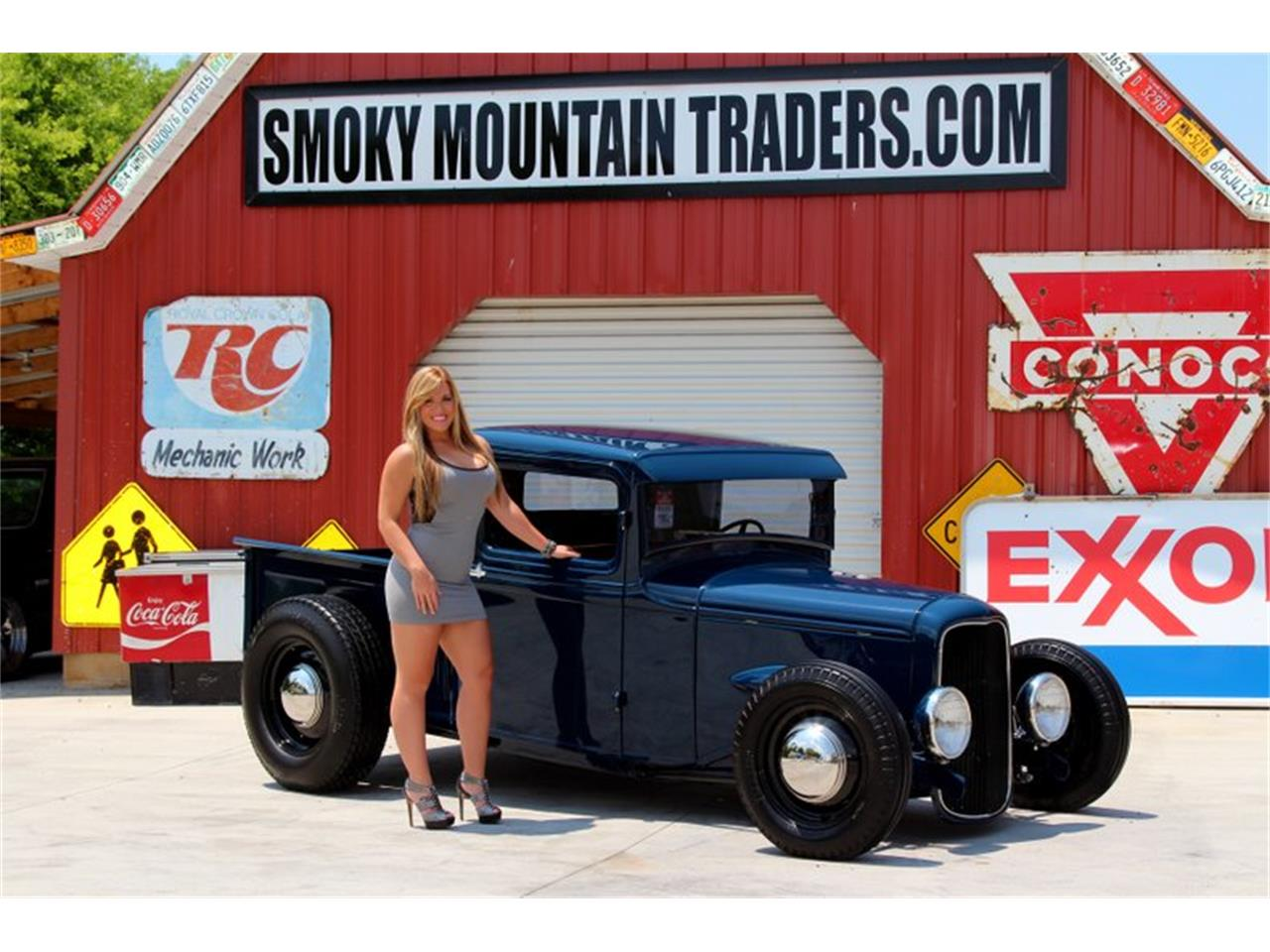 Large Picture of 1934 Ford Pickup located in Tennessee - $55,995.00 Offered by Smoky Mountain Traders - FM0X
