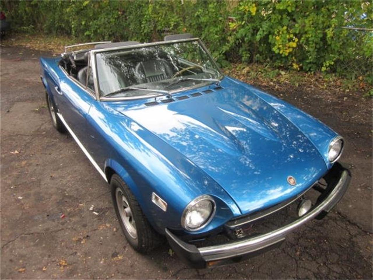 Large Picture of '78 Fiat Spider Offered by The New England Classic Car Co. - FM17