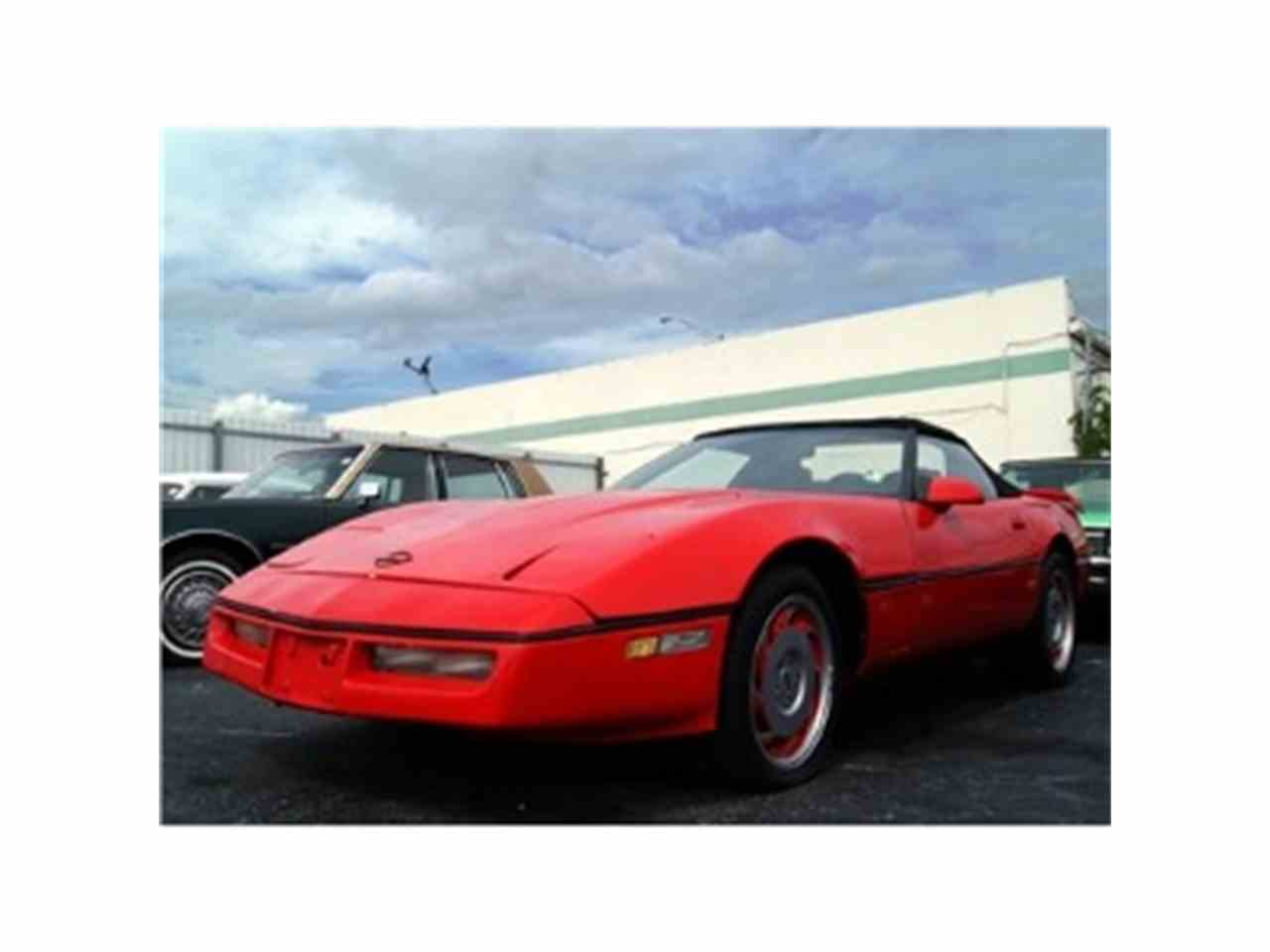 Large Picture of '84 Corvette - FOBH