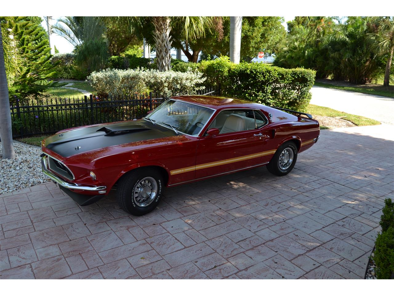 Large Picture of Classic '69 Ford Mustang Mach 1 located in Florida - FQAH