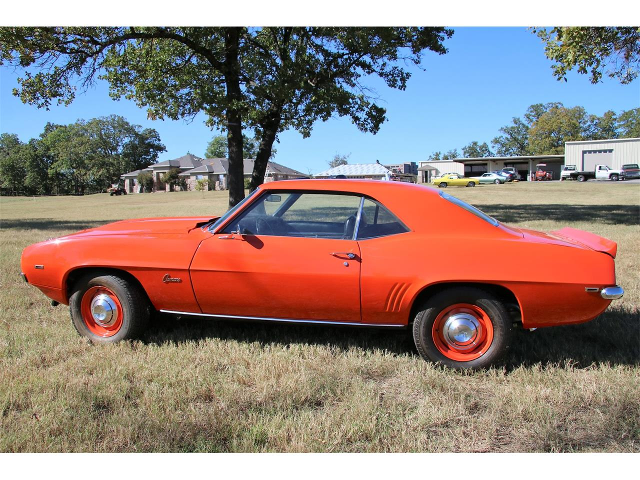 Large Picture Of Classic 1969 Chevrolet Camaro COPO Located In Fort Smith  Arkansas   FQJ6