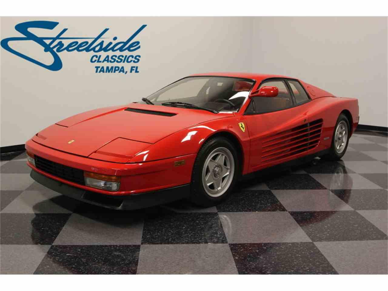 Large Picture of 1986 Ferrari Testarossa located in Lutz Florida - FNNC