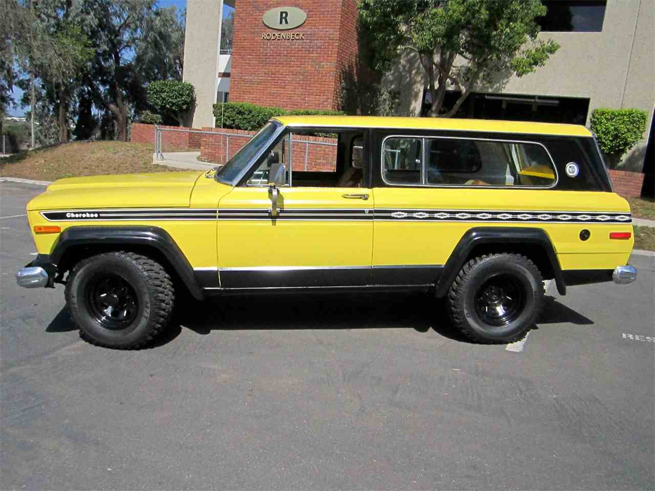 1977 Jeep Cherokee Chief For Sale Classiccars Com Cc