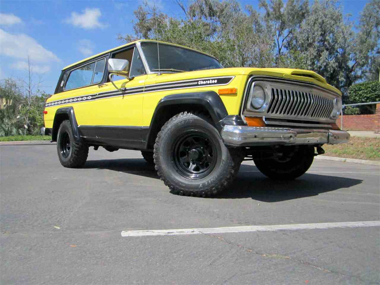 1977 Jeep Cherokee Chief for Sale | ClassicCars.com | CC ...