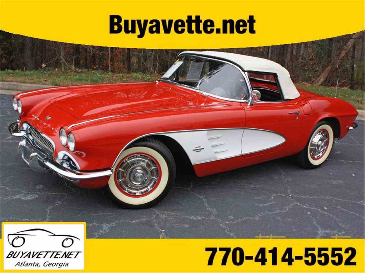 Large Picture of Classic '61 Corvette located in Georgia - $74,999.00 Offered by Buyavette - FSDF