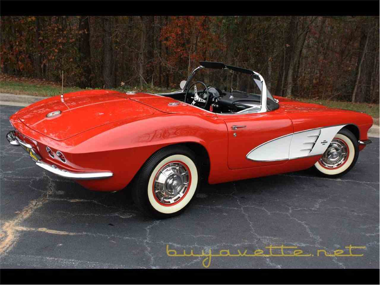 Large Picture of 1961 Chevrolet Corvette located in Atlanta Georgia Offered by Buyavette - FSDF