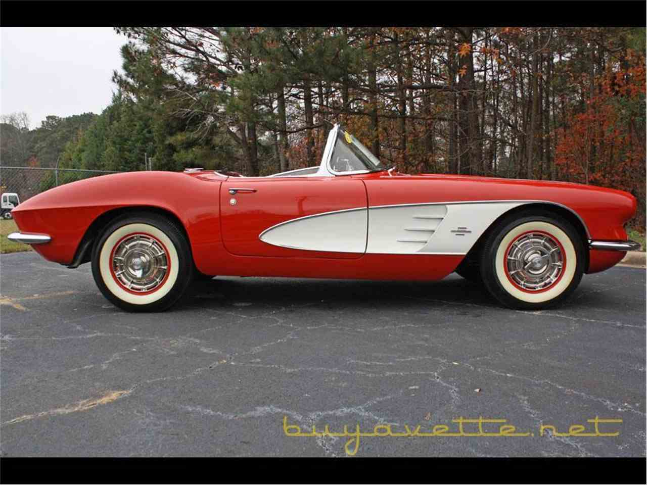Large Picture of Classic 1961 Chevrolet Corvette - $74,999.00 Offered by Buyavette - FSDF