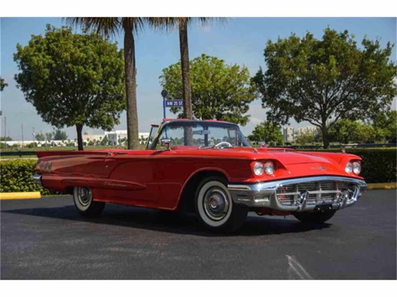 1960 Ford Thunderbird for Sale | ClassicCars.com | CC-737099