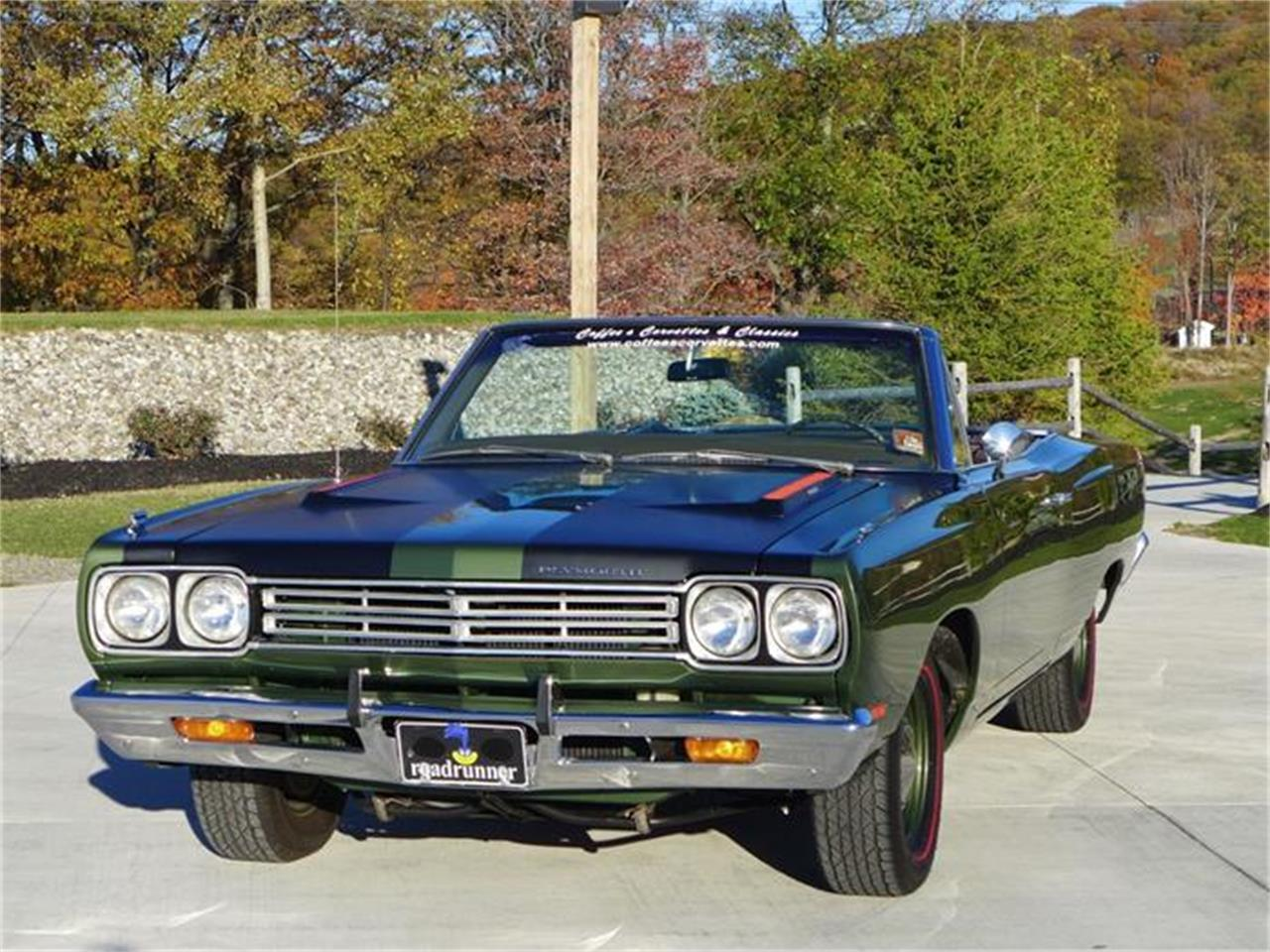 Large Picture of Classic '69 Plymouth Road Runner Auction Vehicle Offered by Coffee's Sports and Classics - FT12