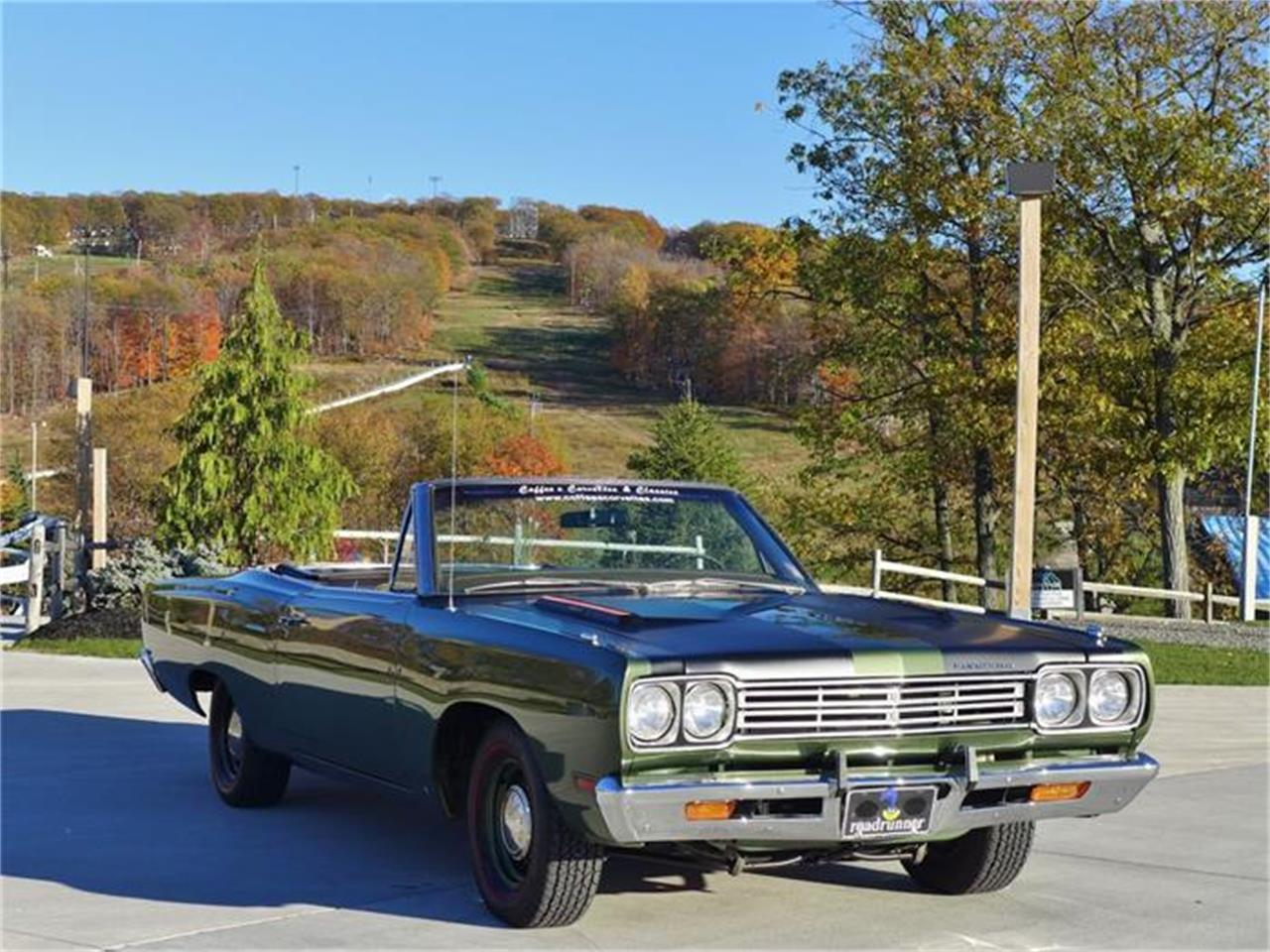 Large Picture of Classic '69 Road Runner located in Old Forge Pennsylvania Auction Vehicle Offered by Coffee's Sports and Classics - FT12