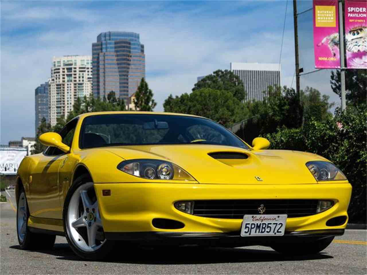 Large Picture of '99 Ferrari 550 Maranello - $194,000.00 Offered by Exclusive Motorcars - FTP9