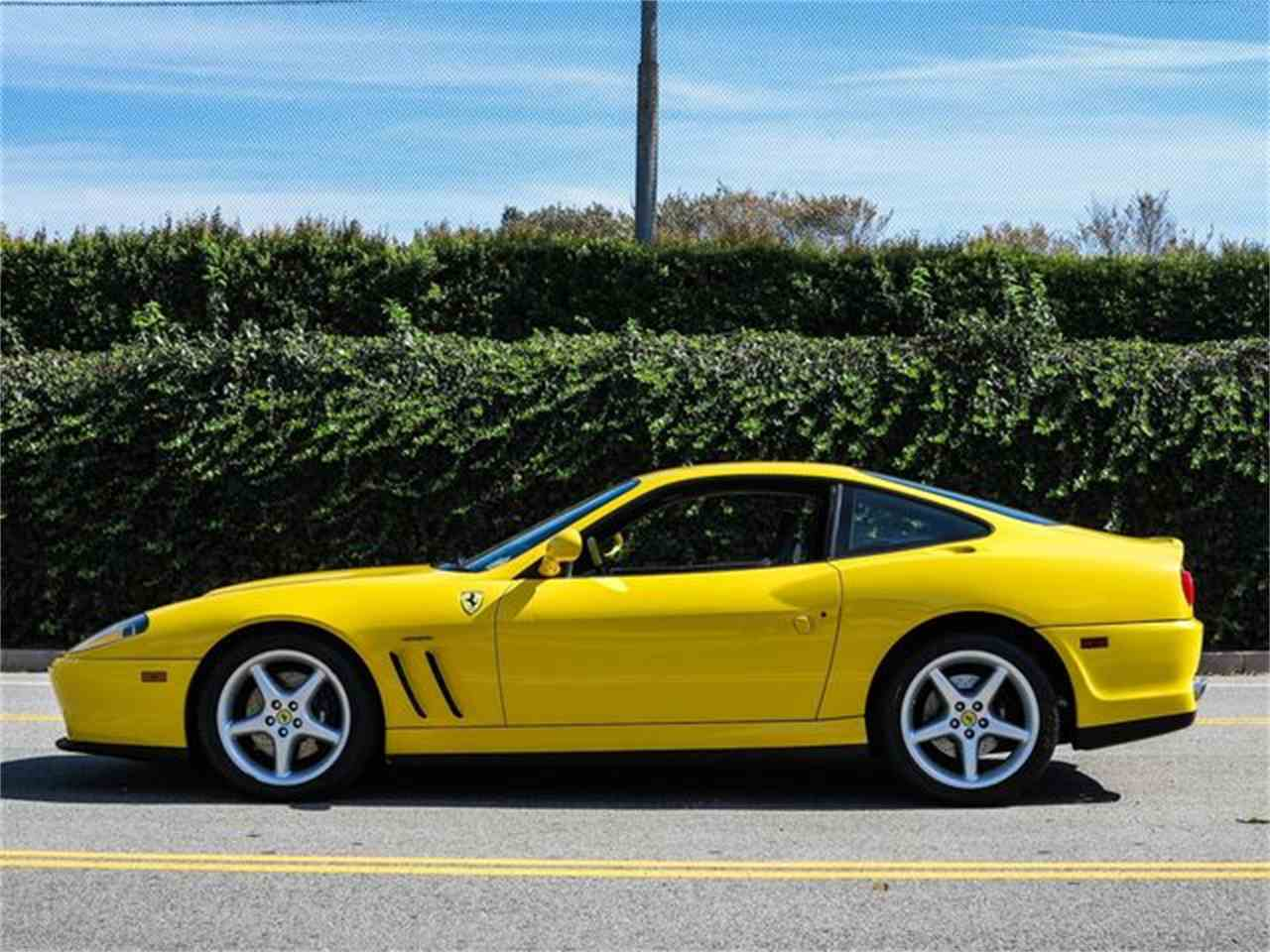 Large Picture of 1999 Ferrari 550 Maranello Offered by Exclusive Motorcars - FTP9
