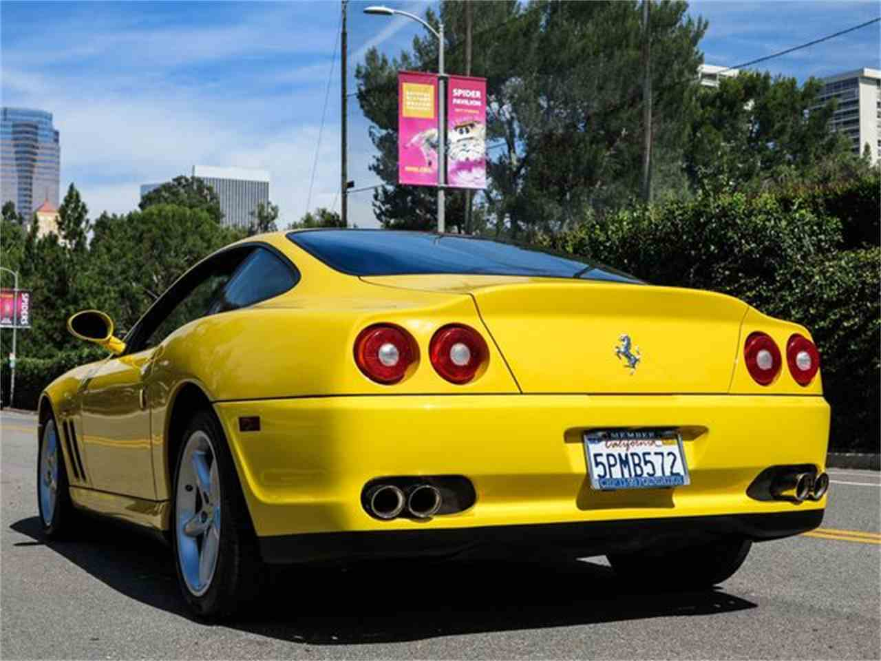 Large Picture of '99 550 Maranello located in California - FTP9