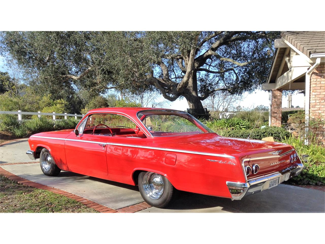 Large Picture of 1962 Chevrolet Bel Air located in Fallbrook California Offered by a Private Seller - FWFG
