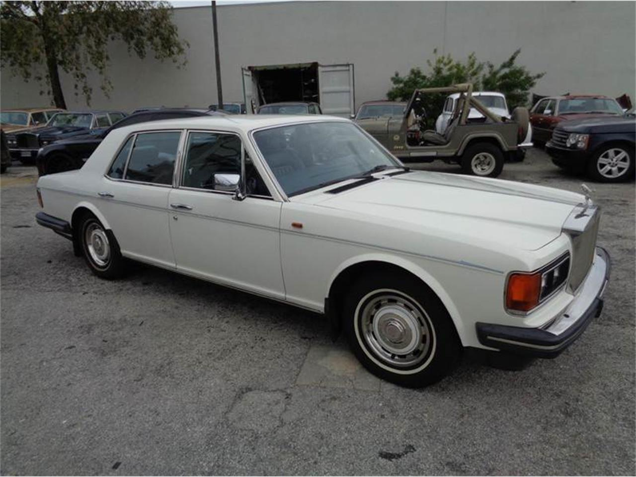 Large Picture of '87 Rolls-Royce Silver Spirit located in Florida Offered by Prestigious Euro Cars - FWHT