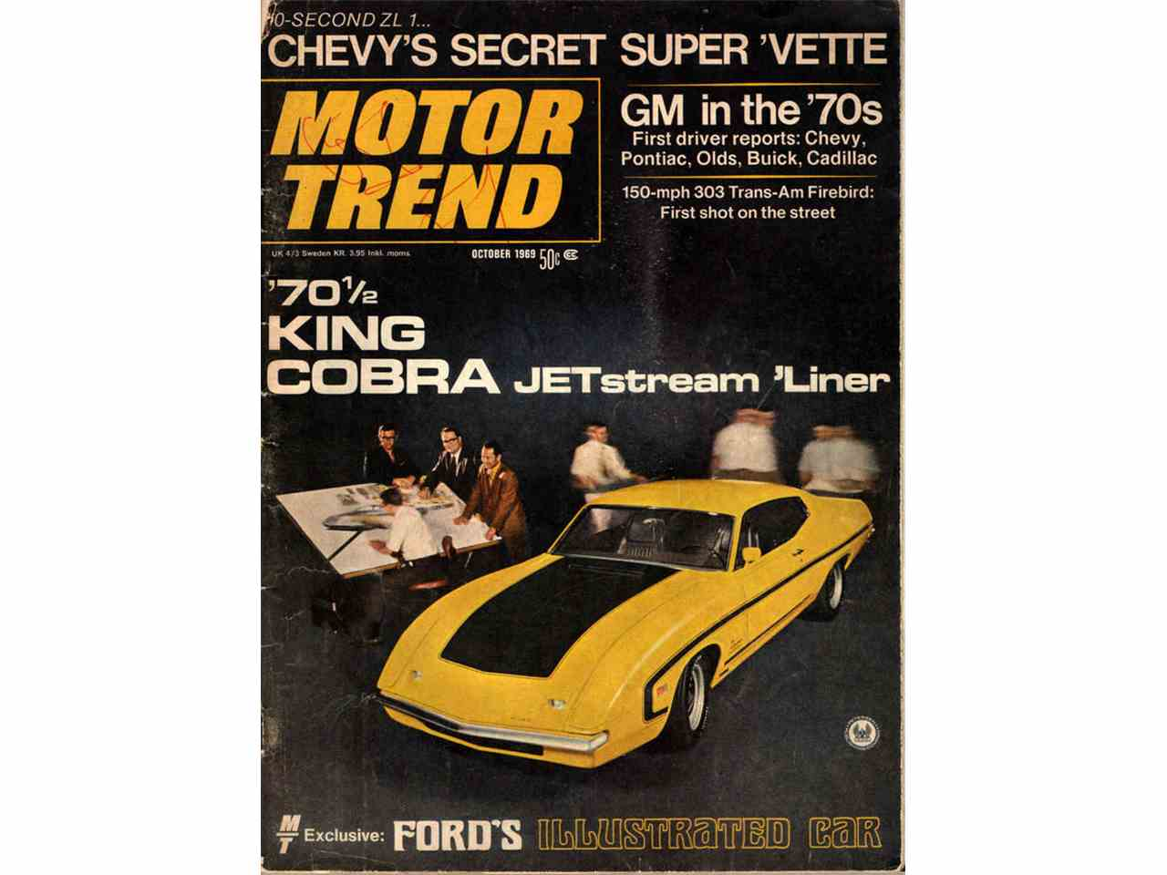 Large Picture of '70 Torino King Cobra Bud Moore Real Front End! - FWI7