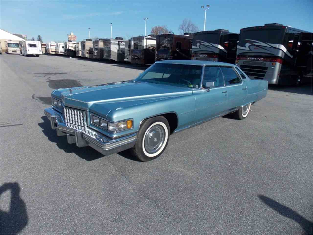 1976 Cadillac Sedan DeVille for Sale | ClicCars.com | CC-742047