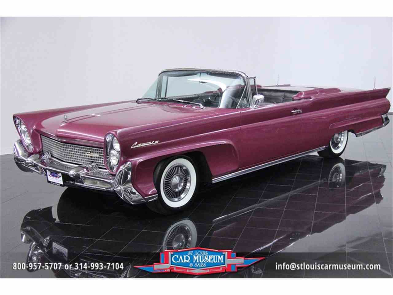 1958 lincoln continental mark iii convertible for sale cc 740227. Black Bedroom Furniture Sets. Home Design Ideas