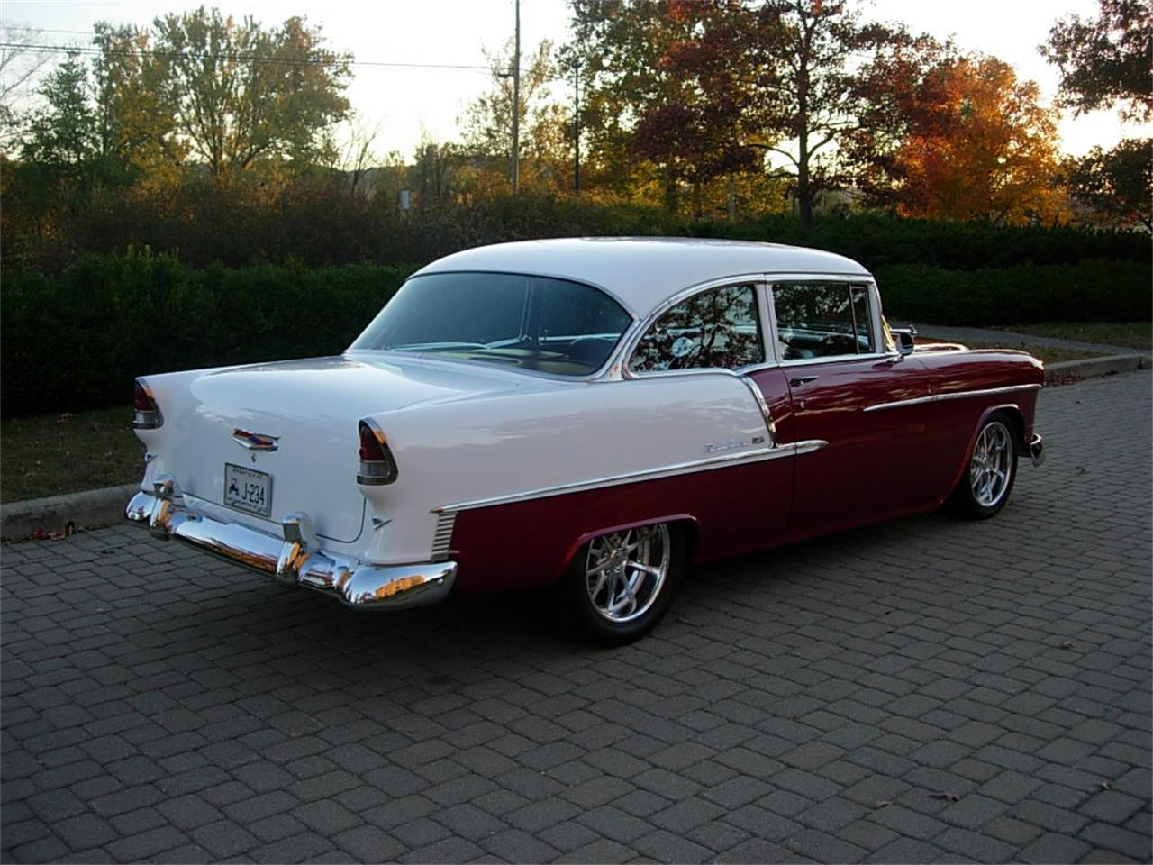 Large Picture of Classic '55 Chevrolet Bel Air Auction Vehicle - FV0C